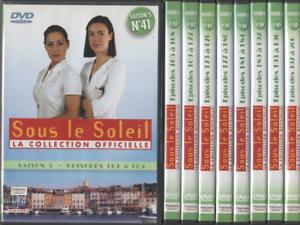 Dvd-Serie-Sous-Le-Soleil-Saison-5-Vol-41-a-50-sauf-le-47-9-Dvds-36-episodes