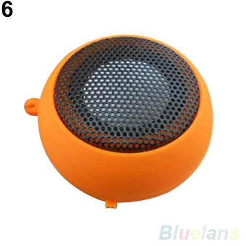 Novelty Mini Hamburger Speaker Amplifier For iPod iPad Laptop iPhone Tablet PC