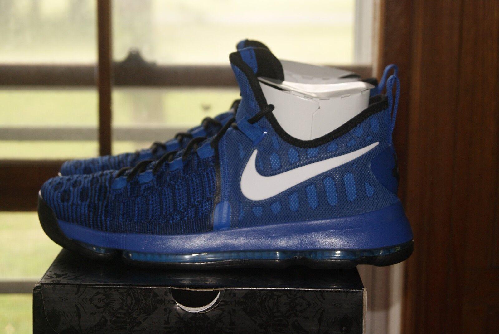 Mens Nike Zoom KD 9 blu 11.5 or 12 12 12 BASKETBALL scarpe Kevin Durant 734b62