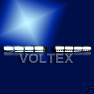 Voltex 1w visor split deck dash led lightbar light bar ebay image is loading voltex 1w visor split deck dash led lightbar aloadofball Image collections
