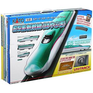 Kato 10-001 Starter Set Shinkansen 700 Hayabusa 3 Cars - N