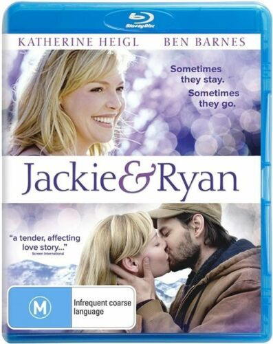 1 of 1 - Jackie & Ryan (BLU-RAY/DVD COMBO PACK, 2015) SEALED, REG B 2-DISC EDITION