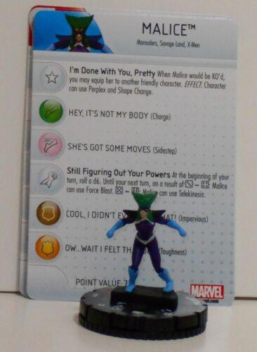 Heroclix Uncanny X-Men # 059 Malice