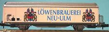 Roco-Baur Habis Bierwagen 535 Löwenbrauerei Neu Ulm