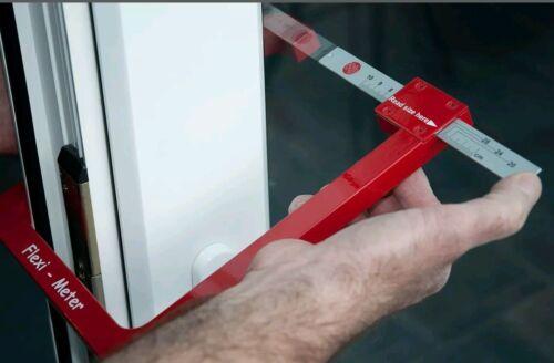 Flexi Compteur Double Vitrage En Verre Outil de Mesure Jauge Fenêtres UPVC Scellé unités