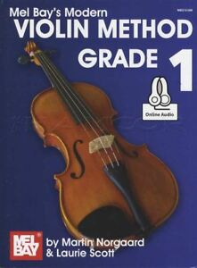 100% Vrai Mel Bay's Modern Violin Method Grade 1 Sheet Music Book With Audio Access Convient Aux Hommes Et Aux Femmes De Tous âGes En Toutes Saisons