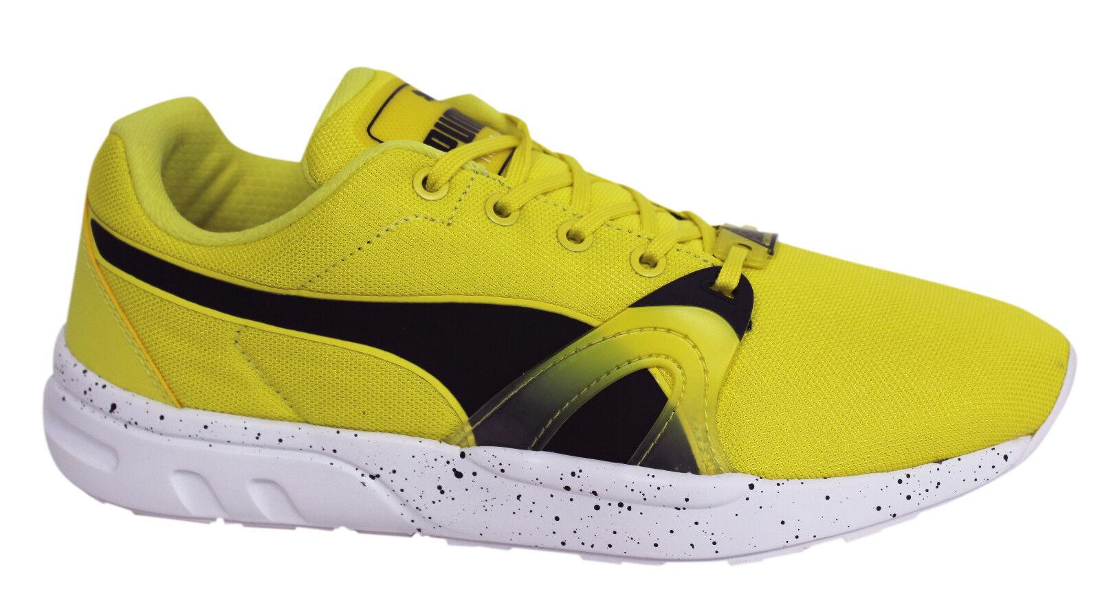 Puma Trinomic XT Original Herren gelb Geschnürte Turnschuhe Laufschuhe 359872 02