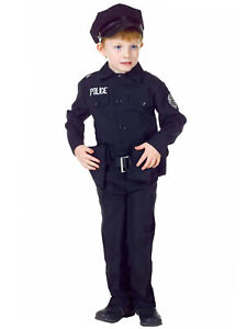 Police-Officer-Cops-Policeman-Uniform-Deluxe-Dress-Up-Boys-Costume