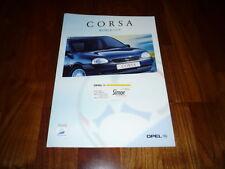 Opel Corsa World Cup folleto 01/1998