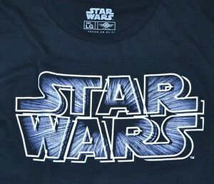 Star Wars Logo Style Adult T-Shirt Tee Officially Licensed ...