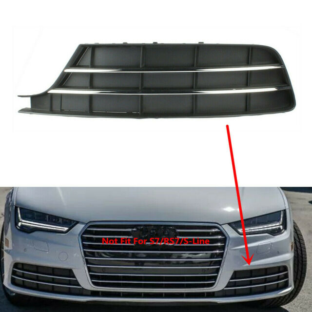 Front Lower Grill Chrome-Bar Cover Fit For AUDI A7