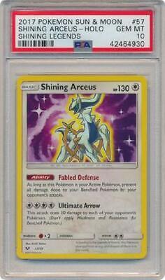Shining Arceus HOLO RARE Pokemon 57//73 Holographic Foil Shiny Legendary LP