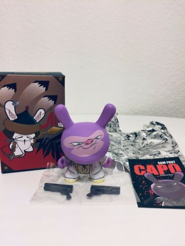 """Kidrobot Dunny-2014 Art of War """"Capo"""" By Sam Fout 2//20"""