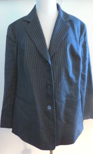 14 scuro a blu maniche colore giacca 82998636874 taglia 148 Lafayette rivestimento righe lunghe qxPTtU