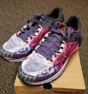 217a413647a NIB Reebok One Cushion 3.0 AG Womens Running Shoes Size 8.5 M Lilac ...