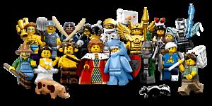 Lego SERIE 17 TORSE TÊTE JAMBE PERSONNAGE Minifigure Torso Heads Lot 71018 NEW !