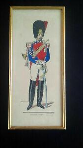 Rare tirage numéroté Image d'Epinal Pellerin Gendarme d'élite n°136/150 Imagerie