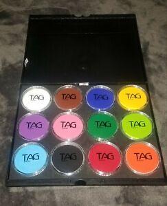12-Color-Tag-Paint-Professional-Face-Paint-Palette-Face-Body-Art-Paint-32g-large