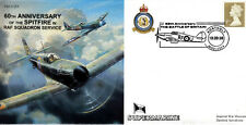 CC53 RAF 60th Ann Supermarine Spitfire Battle of Britain 19 & 80 Sqn cover