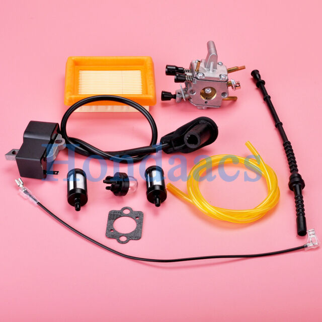 Air Fuel Filter Kit for STIHL Trimmer FS120 FS200 FS250 FS300 FS350 FS400
