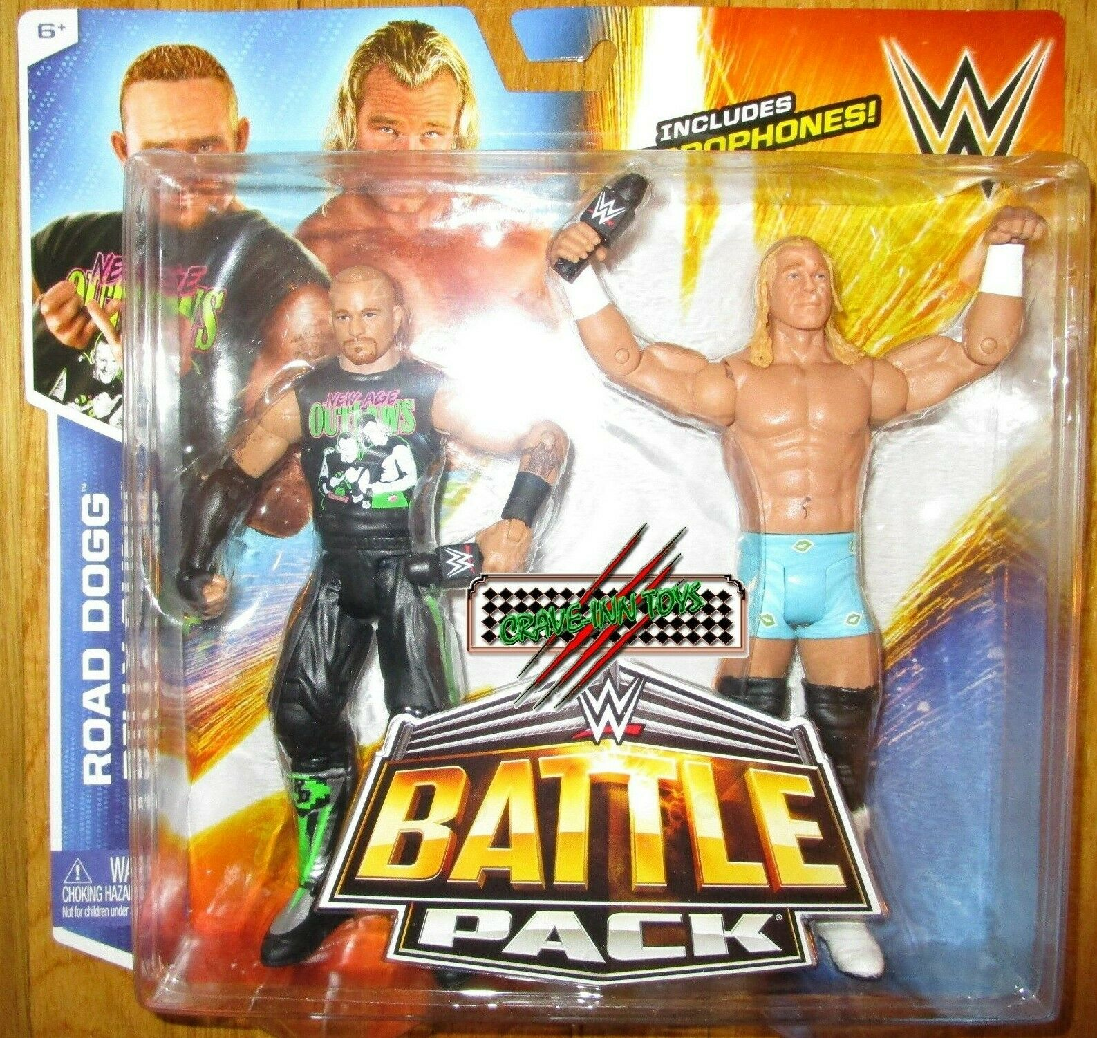 WWE Battle Pack 32 nuovo AGE FUORILEGGE BILLY GUNN & strada DOGG cifra DX