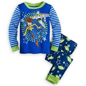 d5c437f5b Disney Store Toy Story Buzz Lightyear Woody Boy 2PC Long Sleeve ...