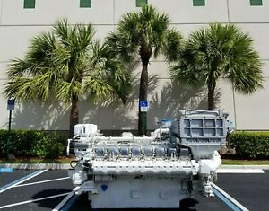 MTU 16V396 TB94, Marine Diesel Engine, 3366HP