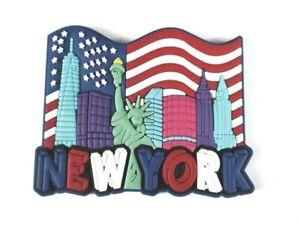 Freiheitsstatue,Rubber Magnet,. New York Freedom Tower World Trade