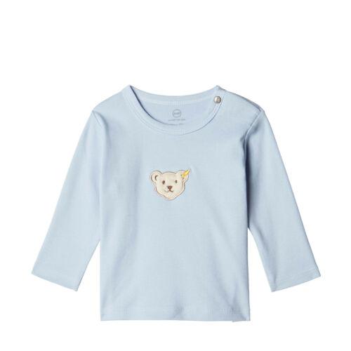 Steiff ® Bébé Garçon Chemise Manches Longues Shirt Bleu Taille 68-86 H//W 2019-20 NOUVEAU!