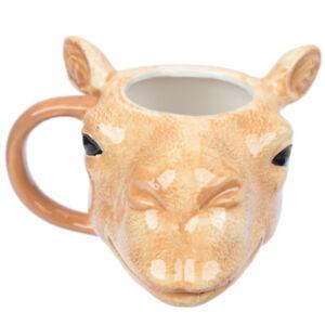 Tasse-Kamelkopf-350-ml-B-Ware-Kaffeetasse-Kaffeebecher-Teebecher-Kamel-Mug