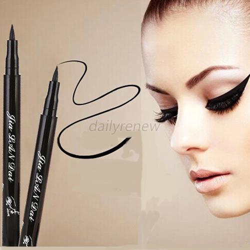 Women's Makeup Beauty Black Liquid Eye Liner Pen Pencil Cosmetic Waterproof Gift