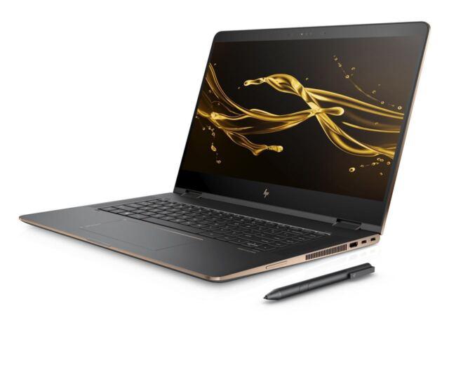 "2017 HP Spectre x360 2-in-1 15.6"" 4K UHD Touch i7 16GB Ram 1TB SSD Active Pen"