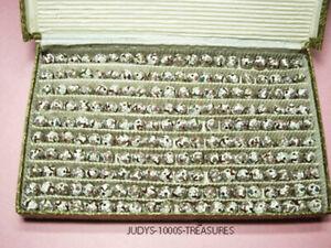 200 Cloisonne Perles blanc avec fleurs roses 10 mm tour de Chine