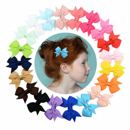40pcs Kids Baby Girls Children Toddler Flowers Hair Clip Bow Accessories Hairpin