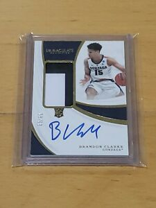 2019-Immaculate-Brandon-Clarke-RC-Auto-True-RPA-99-2-Color-Patch