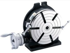 Vertex Hv 10 10 Horizontal Vertical Rotary Table With Face Plate 6 Slots