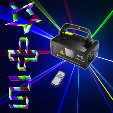 SUNY DMX 3D Effect 400mW RGB Laser Show DJ Music Gig Bar Party Light TDM-RGB400
