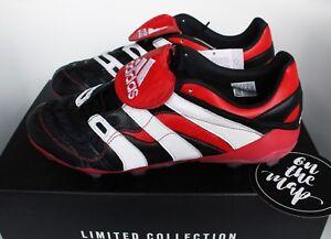 418cbb894 Image is loading Adidas-Predator-Accelerator-FG-Remake-Football-Boots-Black-