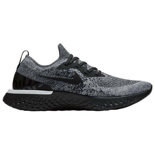 Nike epico reagire flyknit triplo bianco nero oreo aq0067 011 dimensioni gli 8 e i 13
