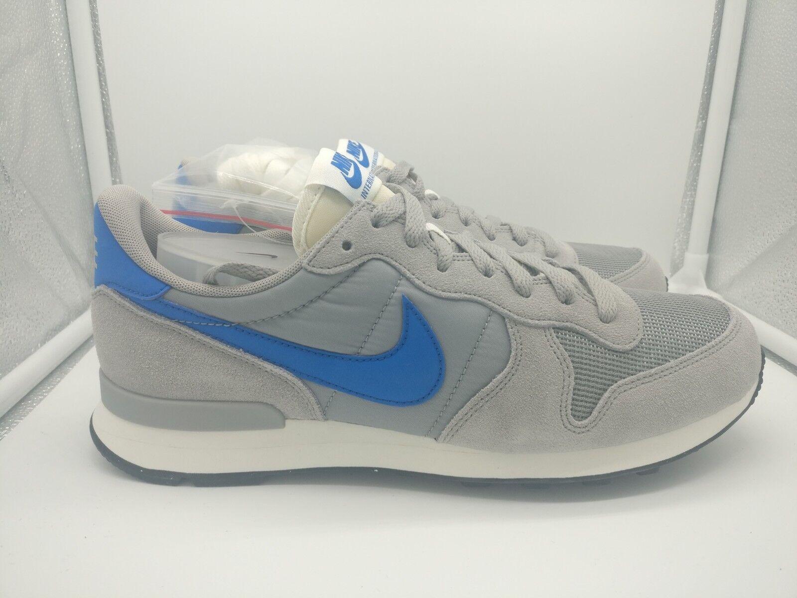 Nike internazionalista opaca argentoo blu scintilla vela 828041 004   Nuovo Prodotto 2019    Scolaro/Signora Scarpa