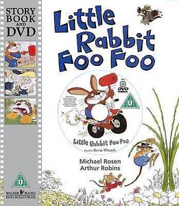Little-Rabbit-Foo-Foo-by-Michael-Rosen-Story-Book-and-DVD-NEW