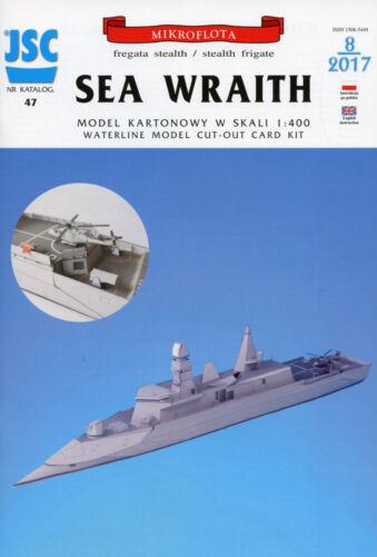 Briten Stealth Frigate SEA WRAITH  # Maßstab 1:400 # JSC 47
