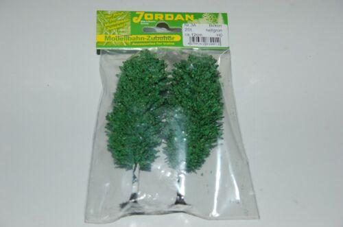 Jordan  Spur H0  2 Bäume in verschiedenen Ausführungen  10-13 cm  NEU  OVP