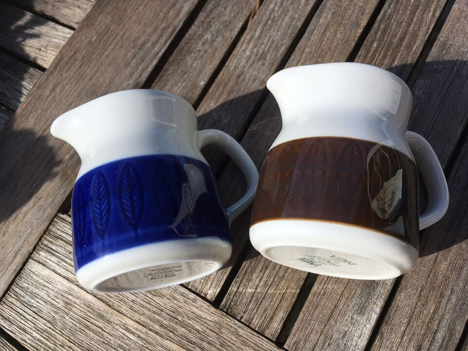 Porcelæn, Flødekande, Rørstrand