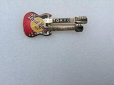 Tokyo Japan B 8-285 Horizontal red doubleneck guitar red on yellow logo collect