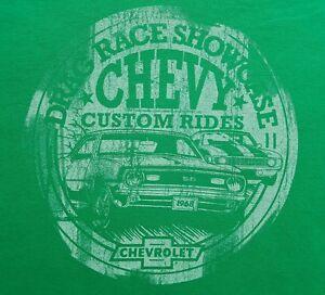 NEW-Drag-Race-Showcase-Chevy-Custom-Rides-T-Shirt-1968-Chevrolet-Chevelle-SS