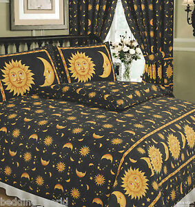 King Size Bedding With Curtains