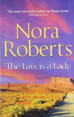 1 of 1 - NORA ROBERTS __  THE LAW IS A LADY ___ BRAND NEW __ FREEPOST UK