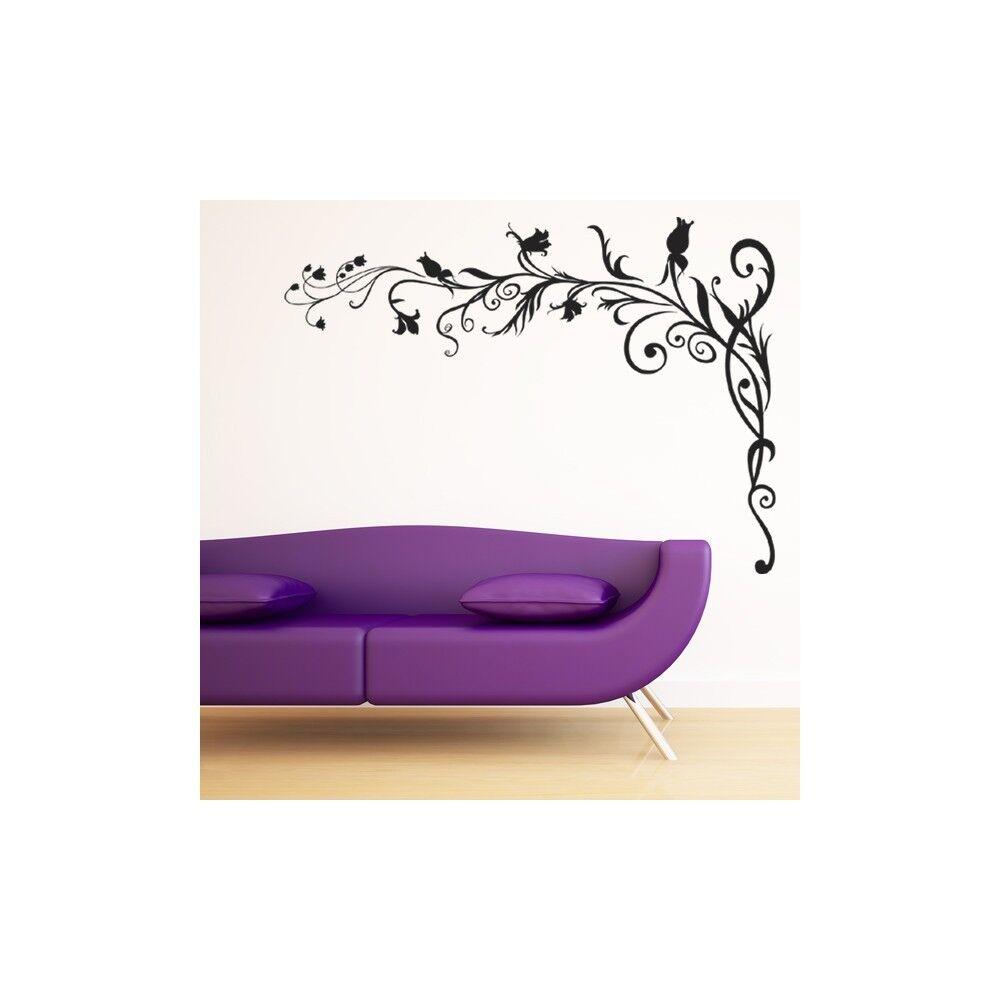 Maison neuve, satisfaite satisfaite satisfaite de la famille Autocollant Stickers Fleur Ref: ODZ2081 6c1797