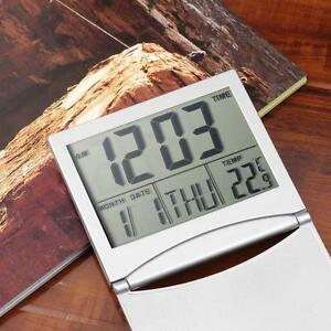 Home-Digital-LCD-Sn-Travel-Alarm-Clocks-Desk-Thermometer-Timer-Calendar-DA